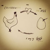 The Chicken & The Egg byGeorge The Poet album cover