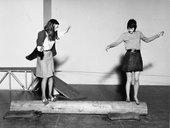 Installation view of the Robert Morris retrospective, Tate Gallery, 1971 Tate © Robert Morris