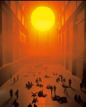 Photograph of Olafur Eliasson's The Weather Project in the Turbine Hall in 2003