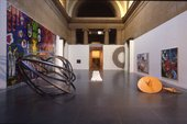 1984 Turner Prize exhibition hosted in the North Duveen sculpture Gallery (26 Oct-2 Dec 1984)