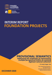 Cover page of report with title and partner logos, dated December 2020