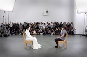 Marina Abramović, The Artist is Present 2010, 3-month performance, The Museum of Modern Art, New York