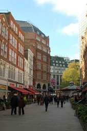 Irving Street is located on the site of Green Street, Leicester Square