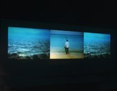 Isaac Julien's Paradise Omeros 2002 installed at Documenta 11 in Kassel, Germany, 2002