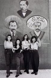 Photograph by Graciela Iturbide - White Fence, East Los Angeles 1979