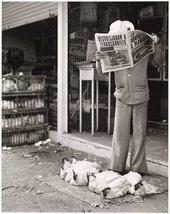 Photograph by Graciela Iturbide - Mercado de Sonora, Mexico City 1978