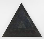 Jack Whitten, Homage to Malcolm, 1970, acrylic paint on canvas, 255.3 × 303.5 cm - © Jack Whitten, courtesy the artist and Hauser & Wirth