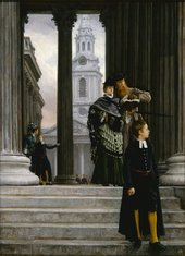 James Tissot London Visitors 1873 Milwaukee Art Museum, Layton Art Collection, Gift of Frederick Layton L1888.14
