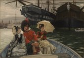 James Tissot Portsmouth Dockyard c.1877 Tate Bequeathed by Sir Hugh Walpole 1941