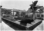 Jan and Joel Martel's cubist concrete trees at the Exposition des Arts Decoratifs, Paris, 1925
