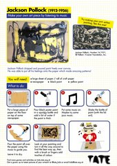 Jazzy drips activity sheet