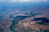 Aerial view of John Mawurndjul's country, 2017, photograph: Jean-Pierre Chabrol