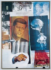 Collage with image of President John Kennedy