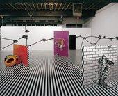 Jim LambieMental Oyster, installation view