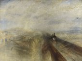 Joseph Mallord William Turner, Rain, Steam and Speed exhibited 1844. The National Gallery, London. © The National Gallery, London
