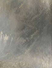 JMW Turner, Snow Storm, exhibited 1842 - detail