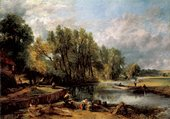 John Constable Stratford Mill 1820 Oil on canvas Courtesy The National Gallery, London