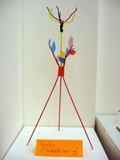 Kid's sculpture