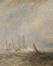 A seascape by JMW Turner