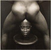 Rotimi Fani-Kayode  Bronze Head 1987, printed c.1987–8 Tate