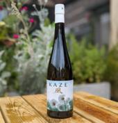 Kaze sake wine bottle