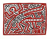 Keith Haring, Untitled 1983 © Keith Haring Foundation