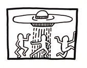 Keith Haring Untitled 1980 © Keith Haring Foundation