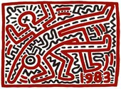 Artwork by Keith Haring, Untitled