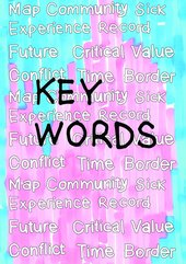 Key Words teaching resource front cover