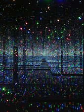 Yayoi Kusama  Infinity Mirrored Room - Filled with the Brilliance of Life 2011/2017