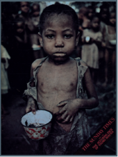 Magazine cover featuring photograph by Don McCullin, Biafra, 1 June 1969