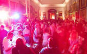 Image of a party in Tate Britain
