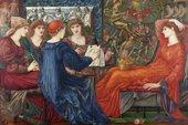 Edward Burne-Jones, Laus Veneris 1873-78. Oil painting on canvasy. Laing Art Gallery (Tyne & Wear Archies & Museums).