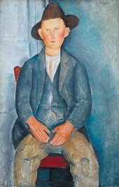 The Little Peasant c.1918 1000 x 645 mm Tate
