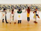 Kids visit Tate Liverpool