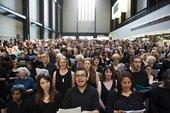 Choir singing at Tate