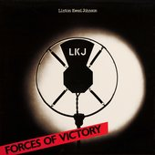 Forces of Victory by Linton Kwesi Johnson album cover