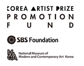 Korea Artist Prize Promotion Fund, from SBS Foundation and National Museum of Modern and Contemporary Art, Korea