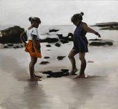 Lynette Yiadom-Boakye, Condor And The Mole 2011, Arts Council Collection (London, UK) © Lynette Yiadom-Boakye