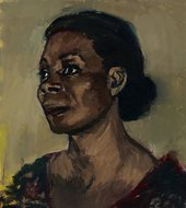 Lynette Yiadom-Boakye The Cream And The Taste 2013 Courtesy of Duro Olowu © Lynette Yiadom-Boakye