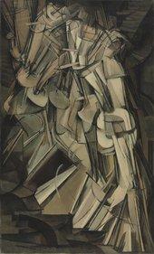Marcel Duchamp,Nude Descending a Staircase (No. 2)1912 - Philadelphia Museum of Art