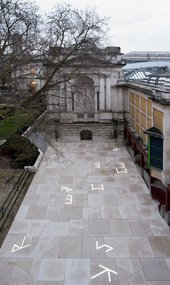 Martin Boyce commission at Tate Britain. Photo: © Tate (Joe Humphrys)