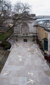 Martin Boyce commission at Tate Britain. Photo: © Tate (Joe Humphrys)