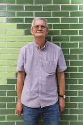 Portrait of Martin Parr. Photo © Louise Little