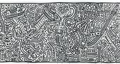 Keith Haring, The Matrix 1983