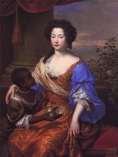Portrait of Louise Renee de Penancoet de Keroualle by Pierre Mignard