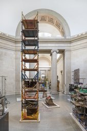 Mike Nelson: The Asset Strippers install view Tate Britain 2019. Photo: © Tate