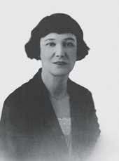 black and white photograph of Beatrice Hastings