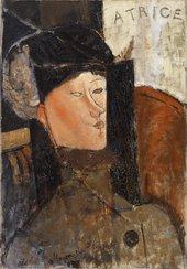 Amedeo Modigliani Béatrice (Portrait de Béatrice Hastings),1916