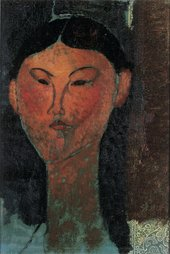 Amedeo Modigliani, Beatrice Hastings, 1915